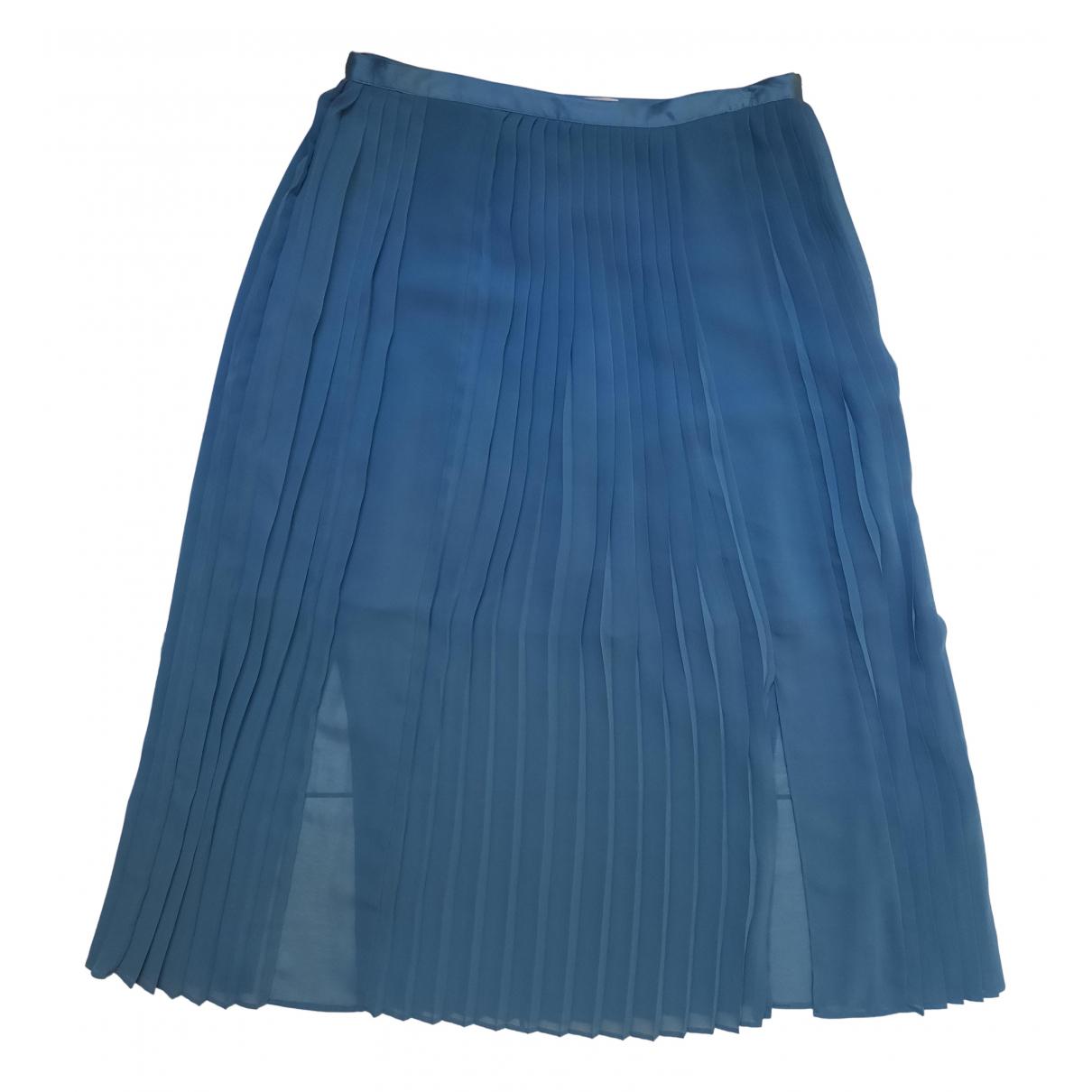 Stefanel \N Rocke in  Blau Polyester