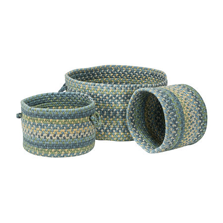 Colonial Mills Greenbrier Braided Basket, One Size , Multiple Colors