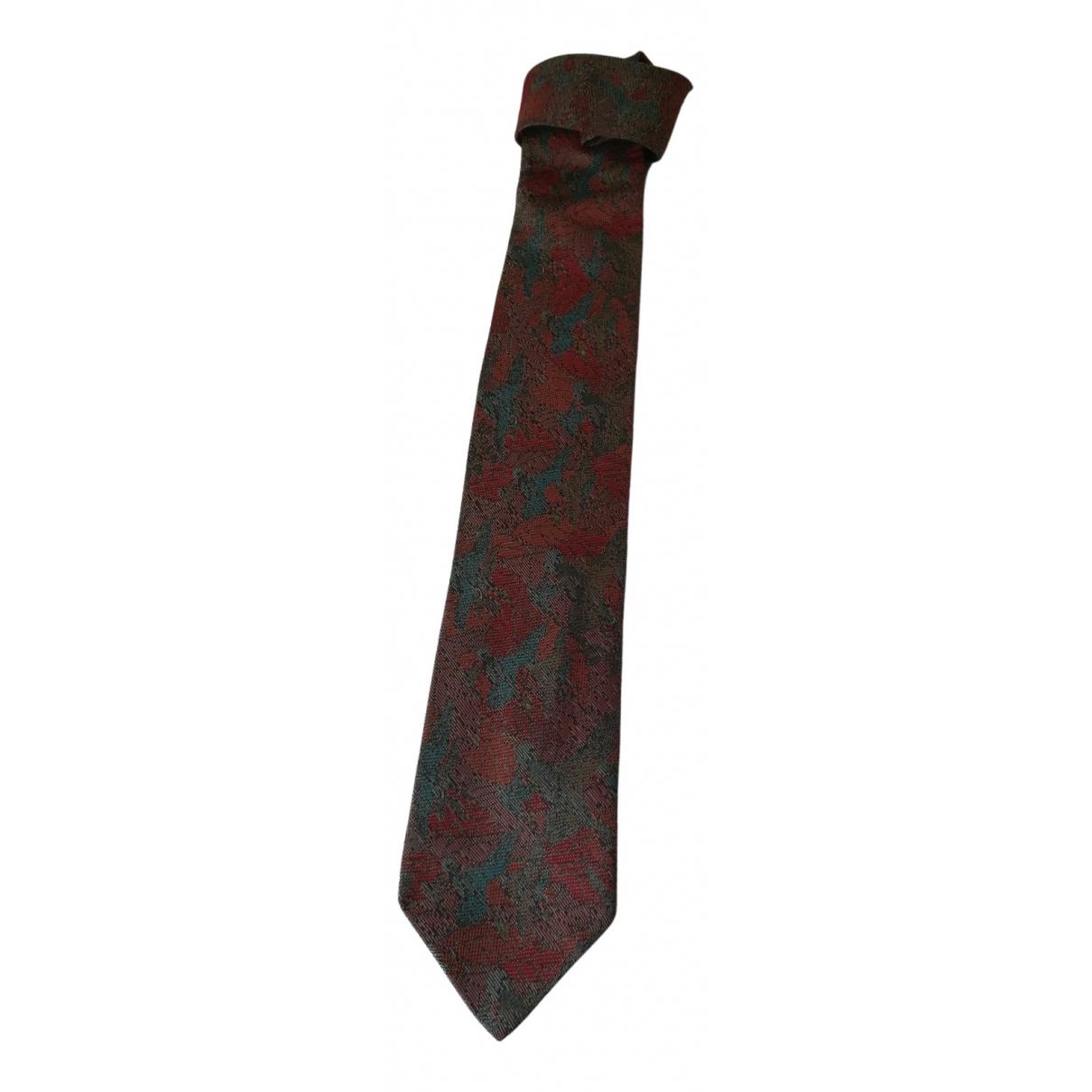 Gianni Versace \N Krawatten in  Bunt Seide