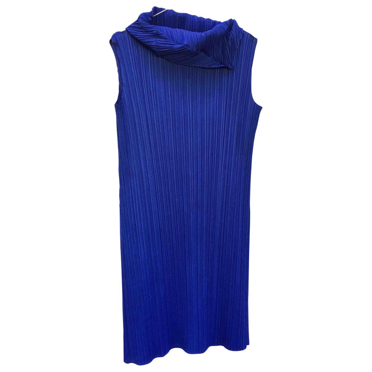 Pleats Please \N Blue dress for Women 40 FR