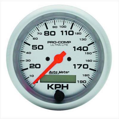 Auto Meter Ultra-Lite In-Dash Electric Speedometer - 4487-M