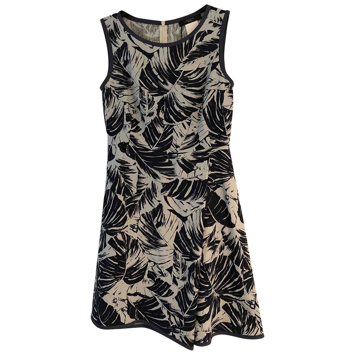 Max Mara Weekend N Navy Linen dress for Women 6 UK