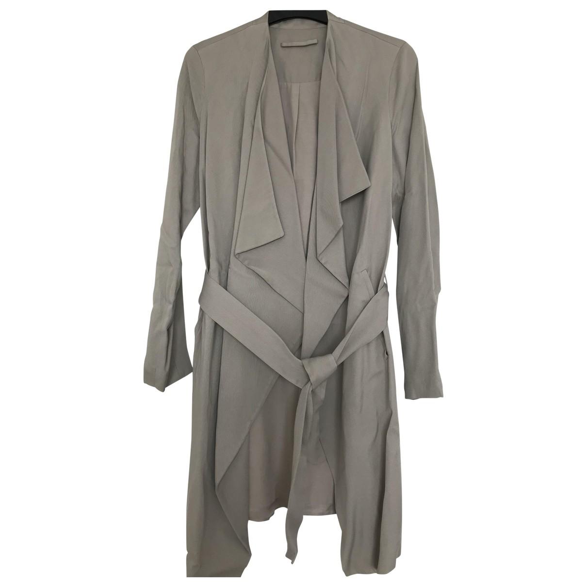 All Saints \N Beige Cotton coat for Women 4 UK