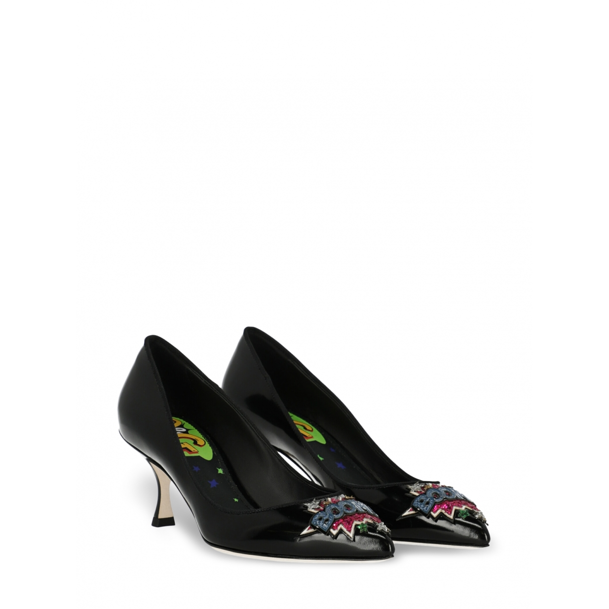 Dolce & Gabbana \N Black Patent leather Heels for Women 36 IT