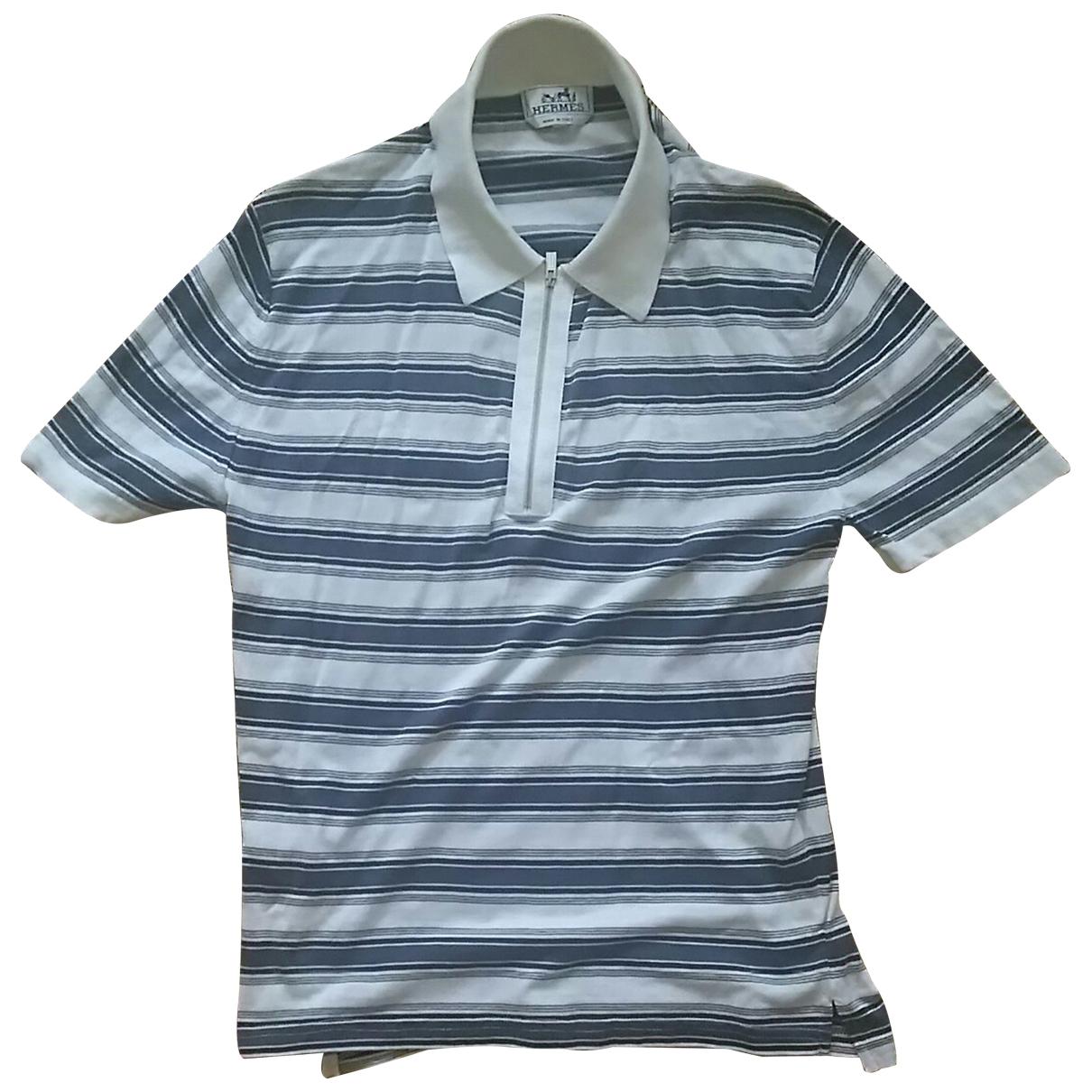 Hermes - Polos   pour homme en coton - multicolore