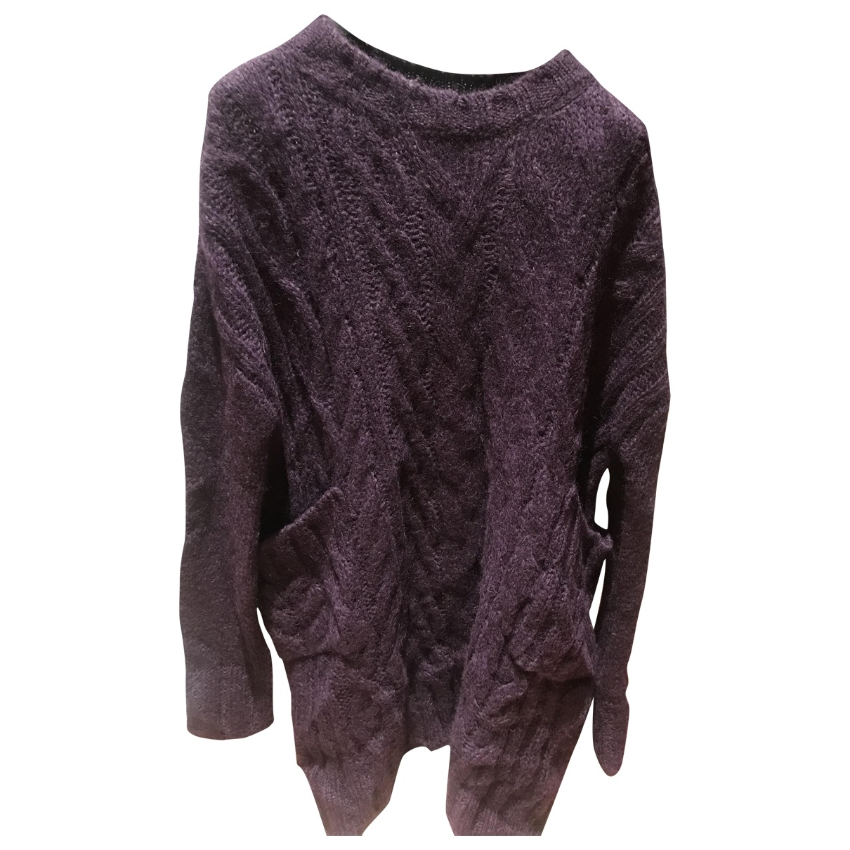 Dondup \N Pullover in  Lila Wolle