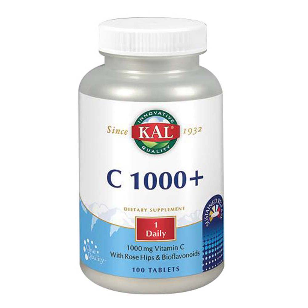 C 1000+ Sustained Release 100 Tabs by Kal