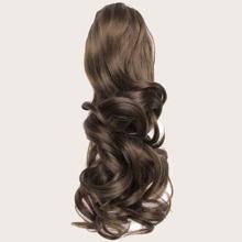 Lange lockige Pony Haarverlaengerung