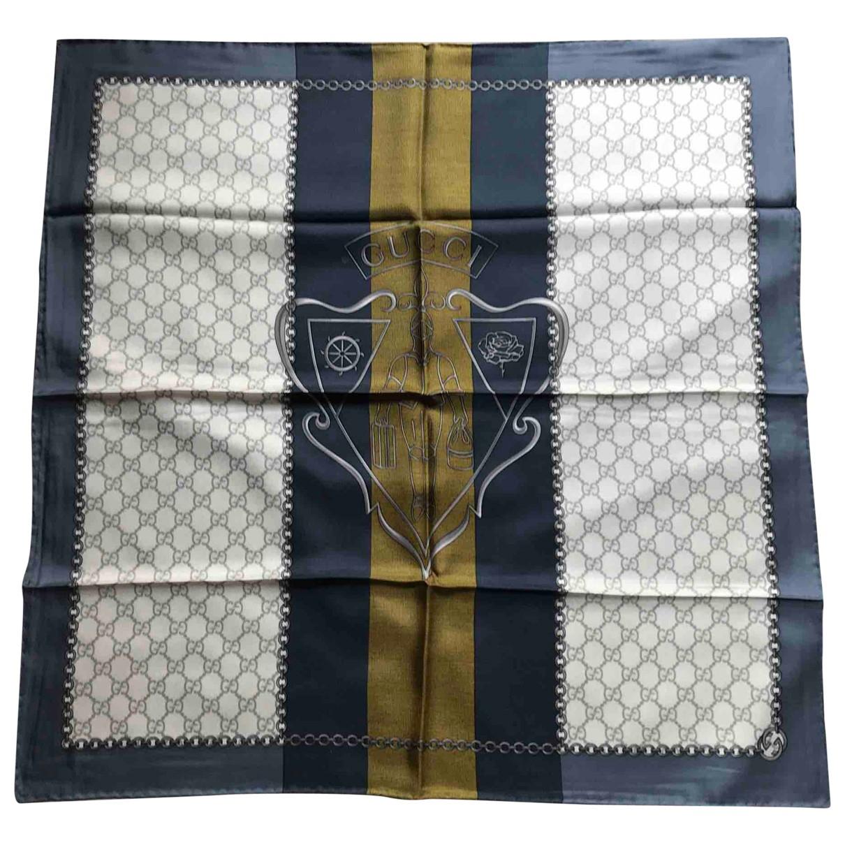 Gucci - Foulard   pour femme en soie - multicolore