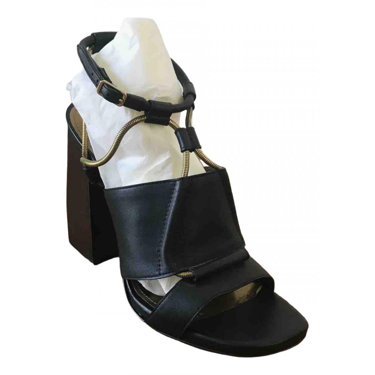 Sandalias de Cuero Lanvin