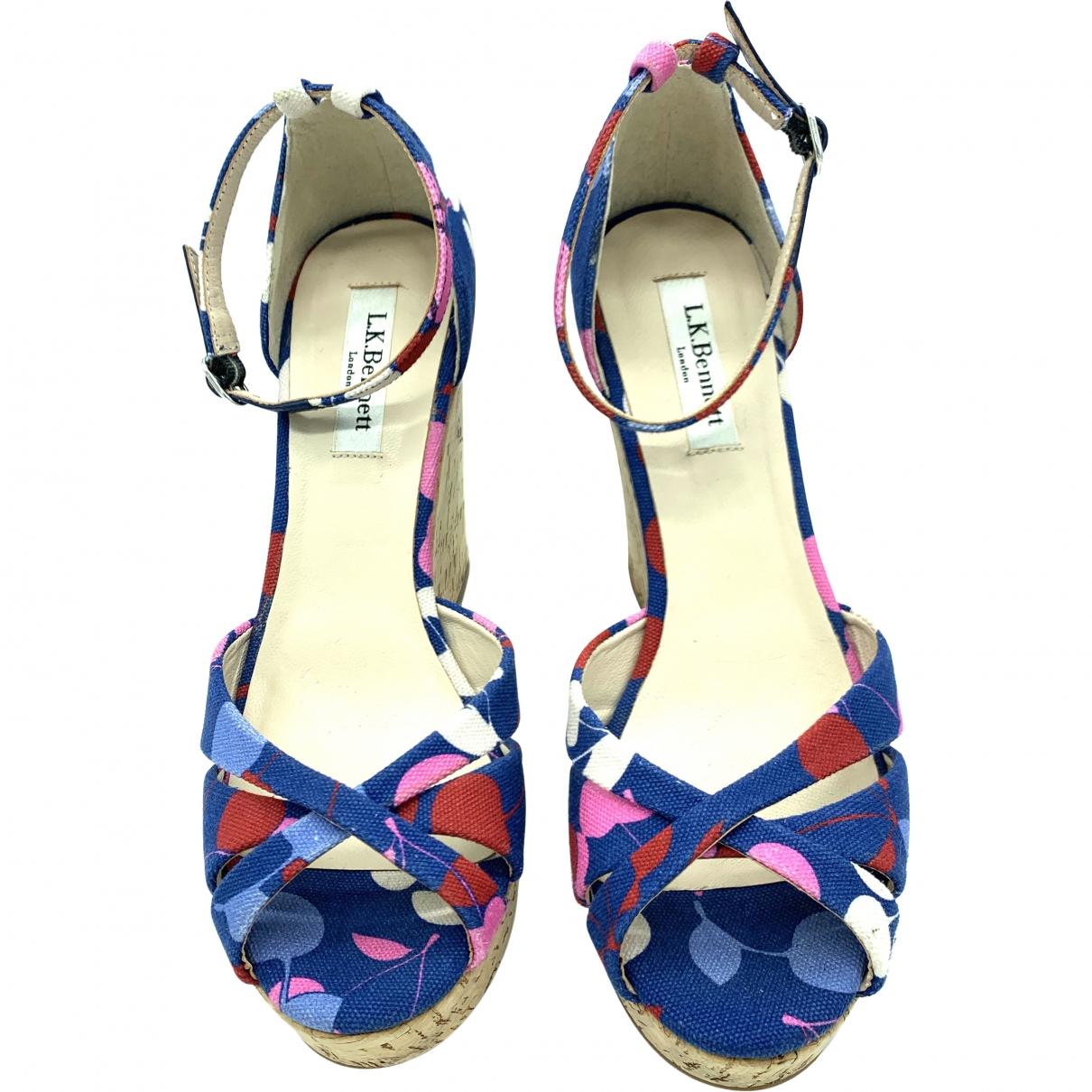 Lk Bennett \N Multicolour Cloth Sandals for Women 5 UK