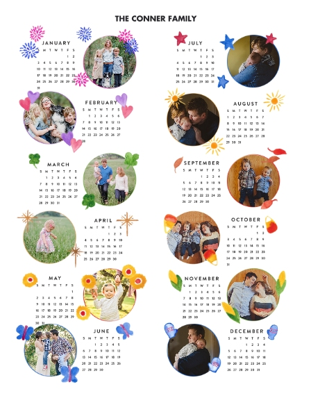 Calendar 11x14 Poster(s), Board, Home Décor -One Wish