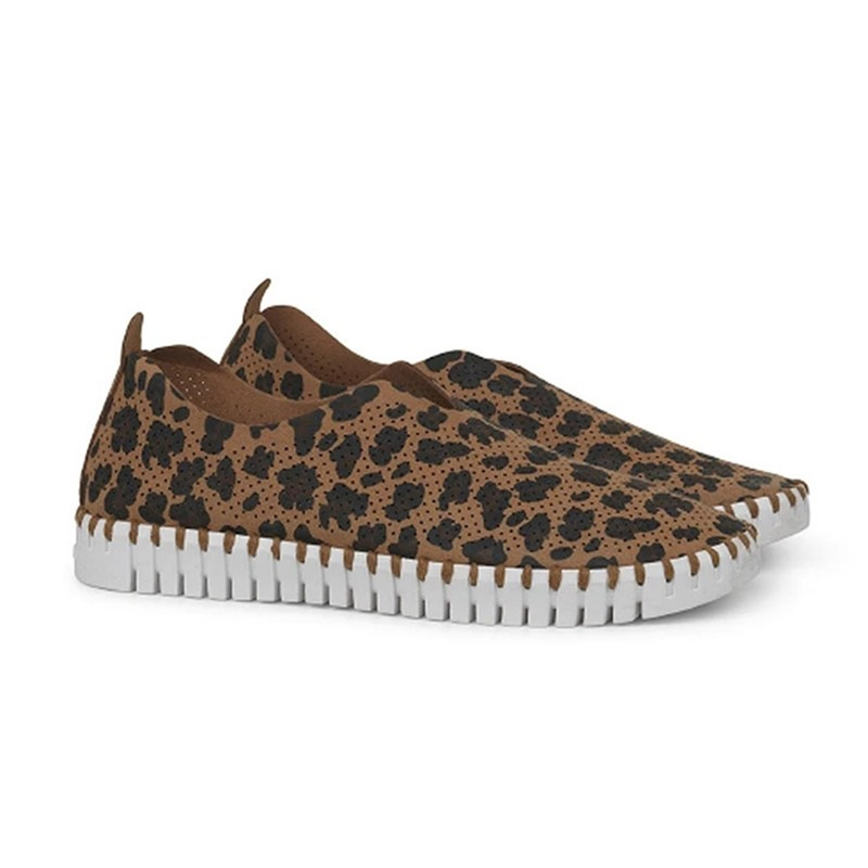 Ericdress Round Toe Slip-On Thread Leopard Thin Shoes