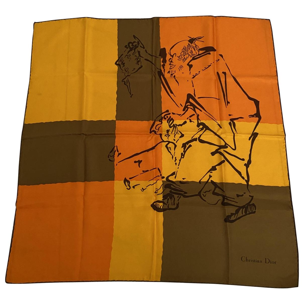 Dior - Carre   pour femme en soie - multicolore
