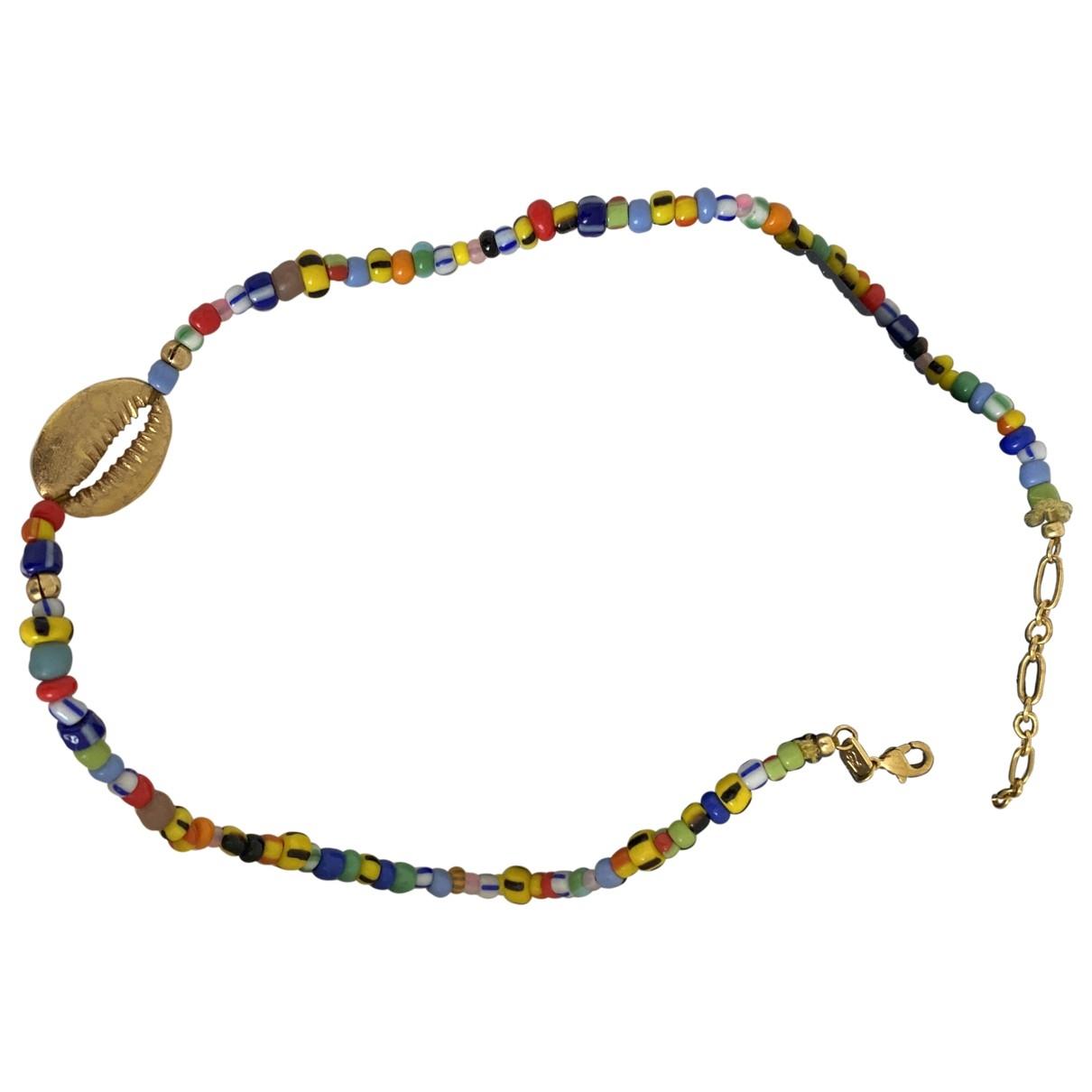 Anni Lu - Collier   pour femme en plaque or - multicolore