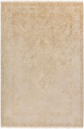 Hillcrest HIL-9018 2 x 3 Rectangle Traditional Rug in Beige  Cream  Khaki  Taupe