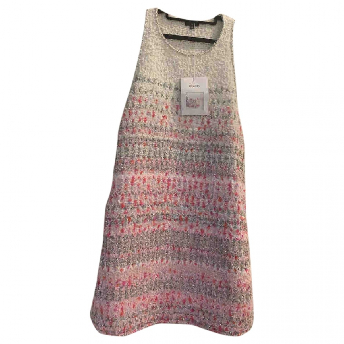 Chanel \N Multicolour Tweed dress for Women 38 FR