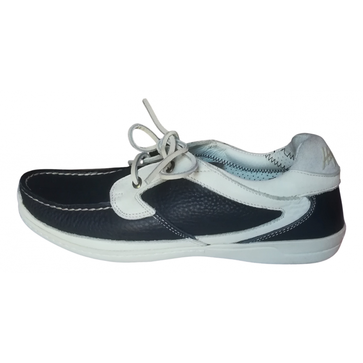 Marina Yachting N Blue Leather Lace ups for Women 37 IT