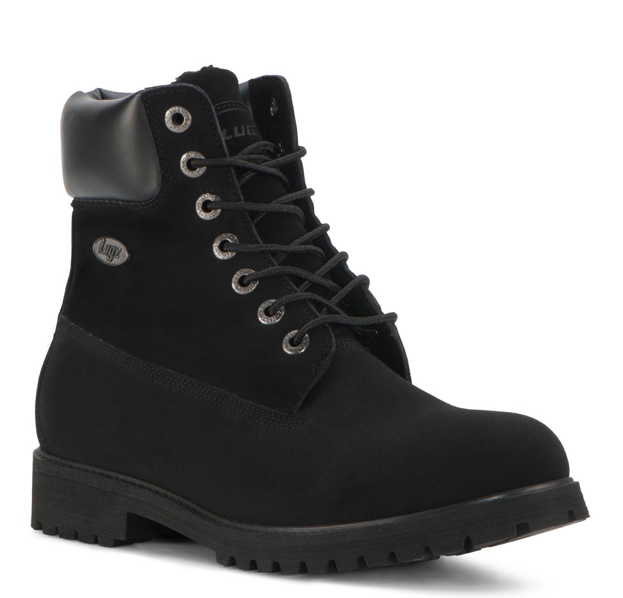 Men's Convoy Fleece 6-Inch Boot (Choose Your Color: BLACK, Choose Your Size: 10.5)