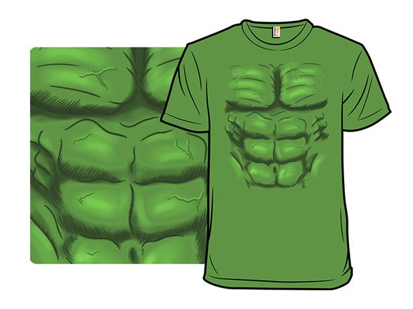 Hulk Costume T Shirt
