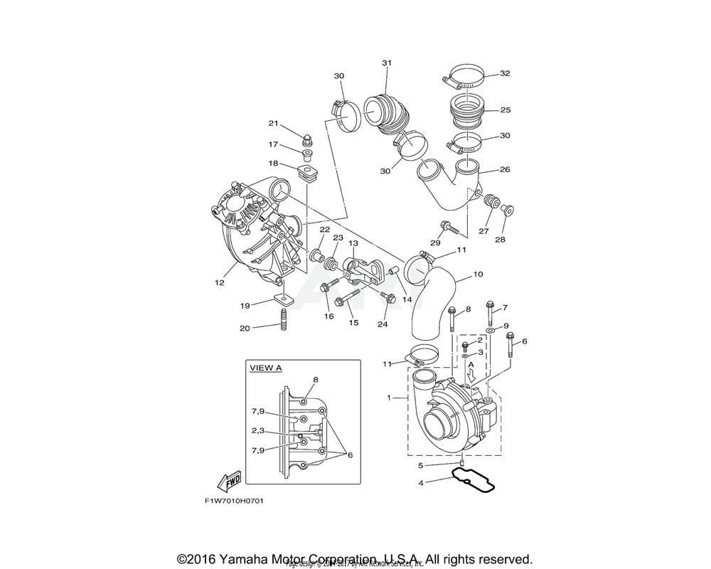 Yamaha OEM 90387-11007-00 COLLAR