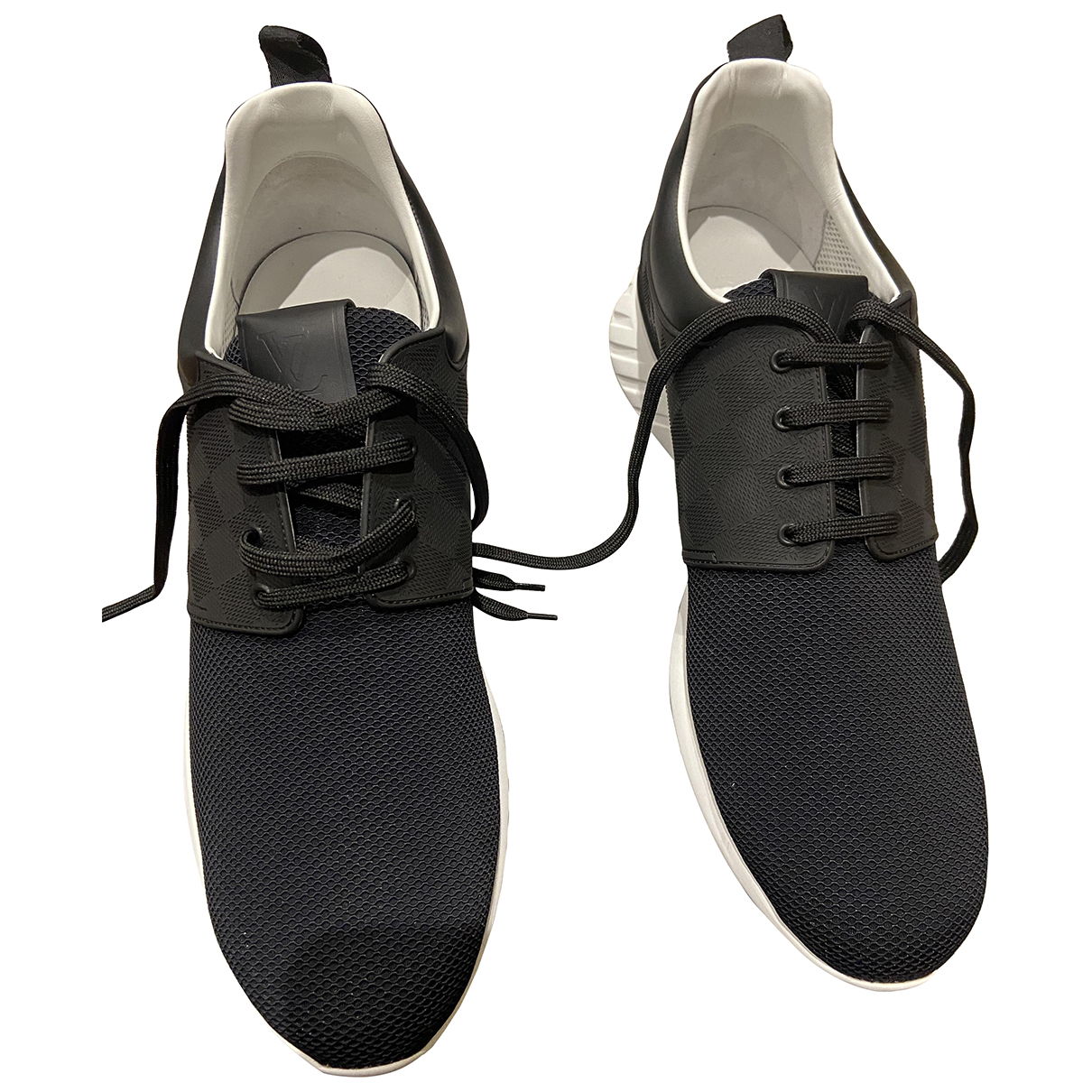 Louis Vuitton LV Trainer Black Cloth Trainers for Men 10 UK