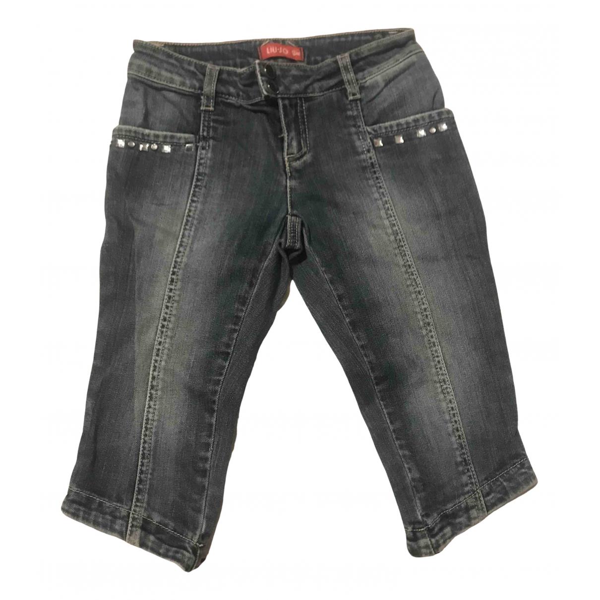 Liu.jo - Pantalon   pour enfant en denim - bleu
