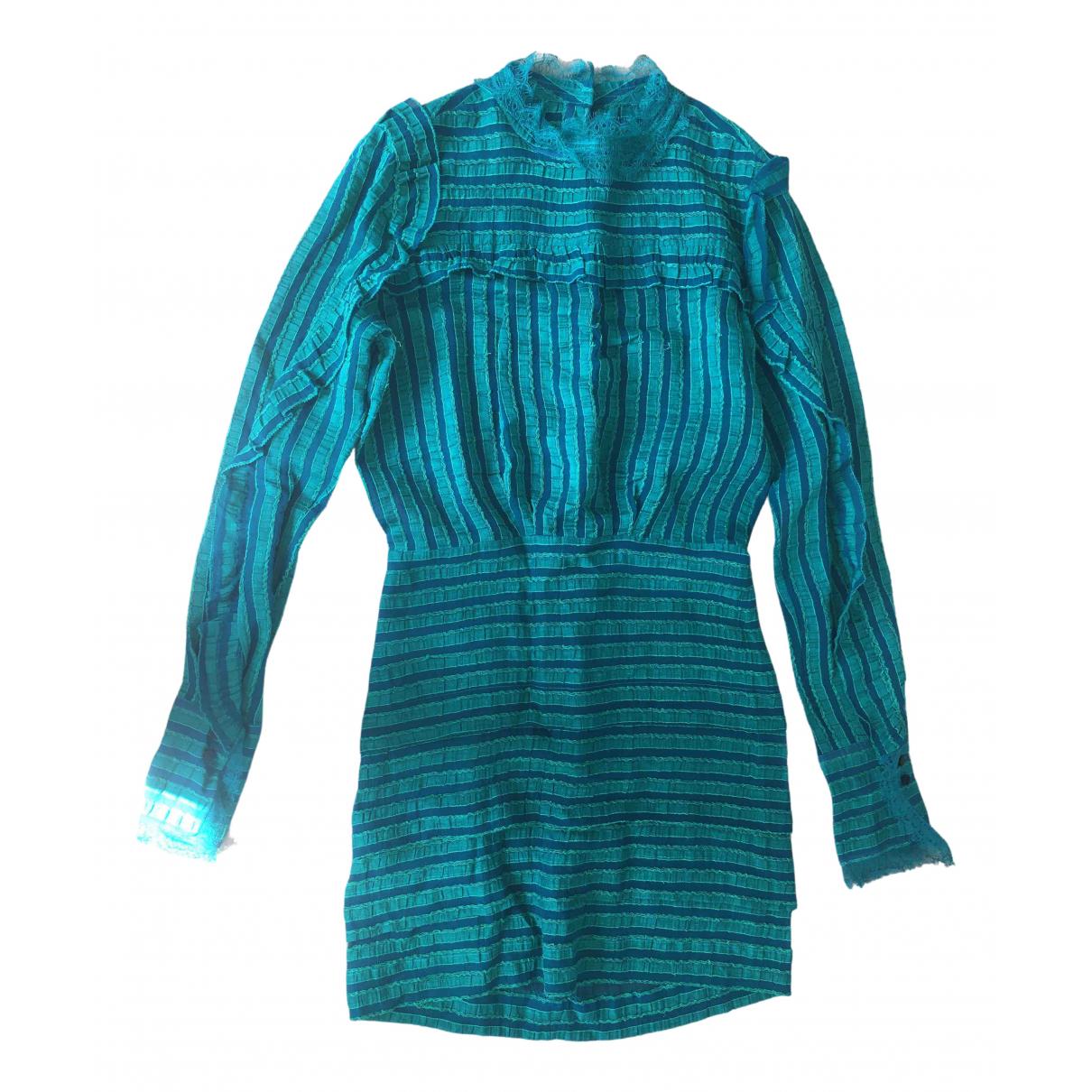 Vestido midi de Seda Isabel Marant