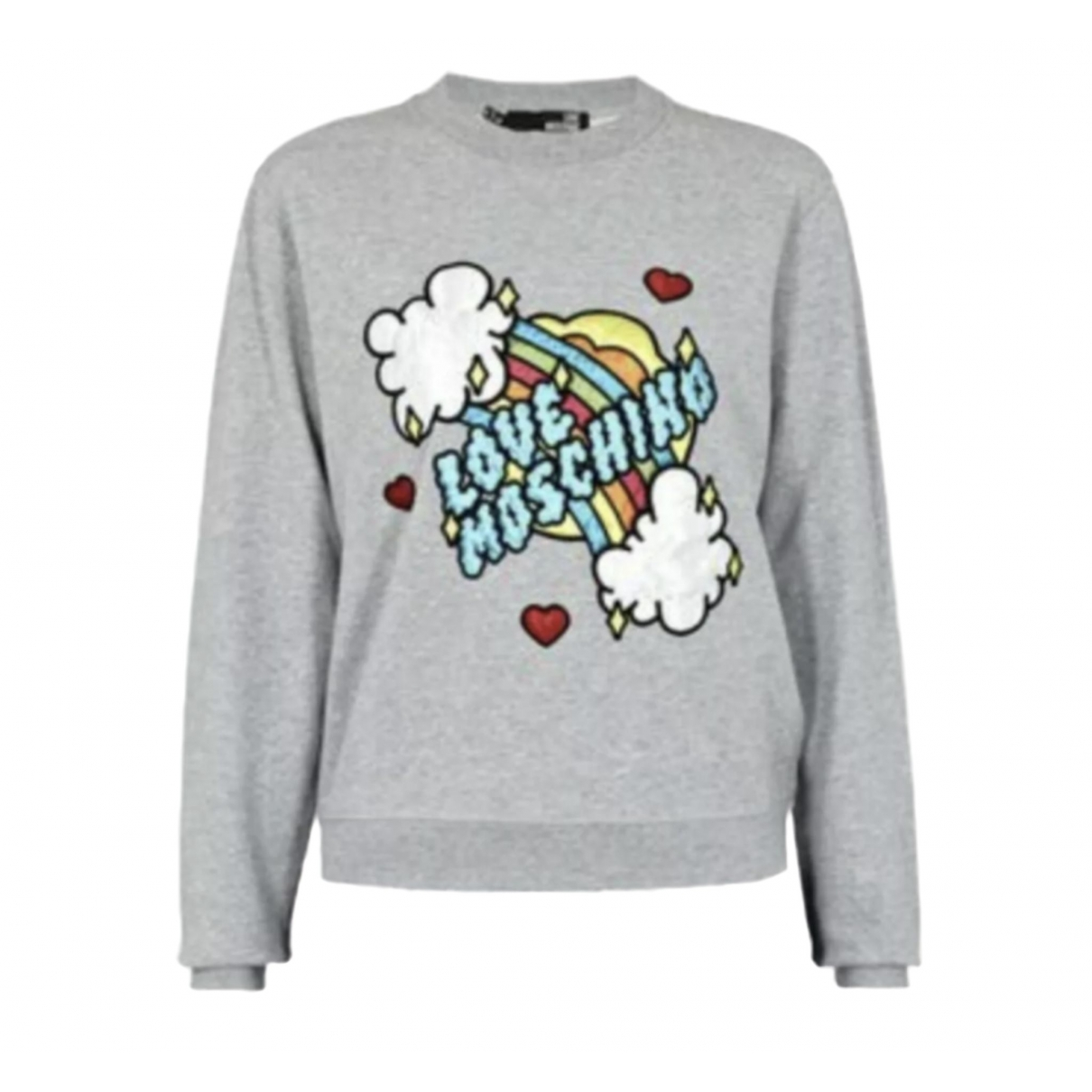 Moschino Love \N Grey Cotton  top for Women 10 UK