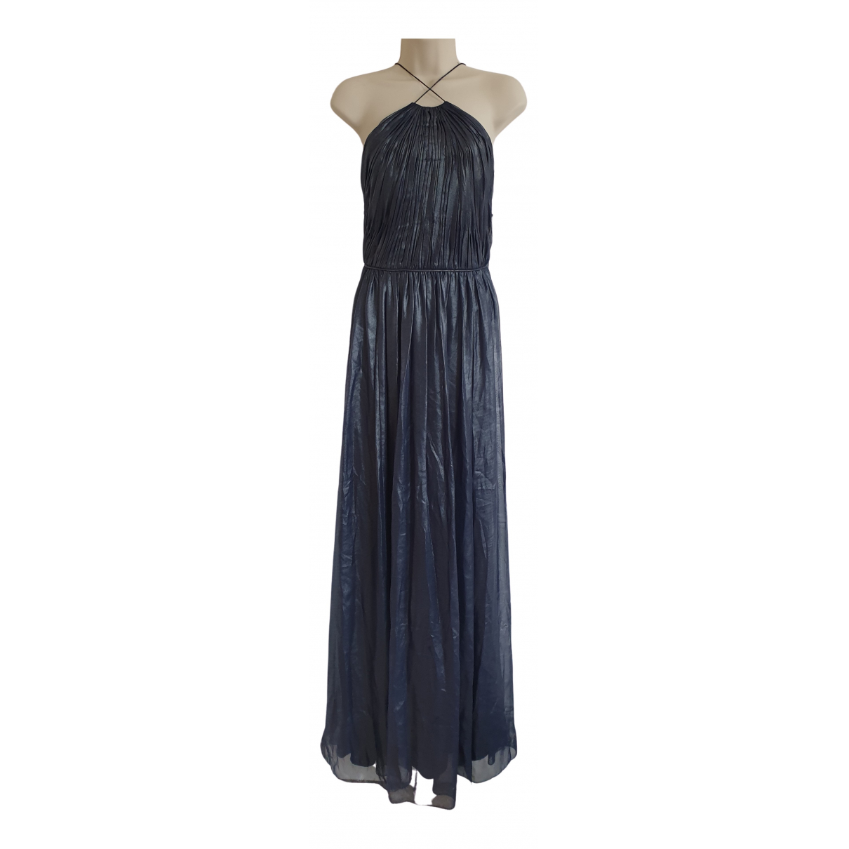 Vera Wang \N Kleid in  Marine Polyester