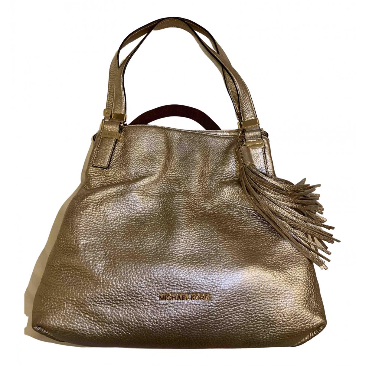 Michael Kors N Metallic Leather handbag for Women N