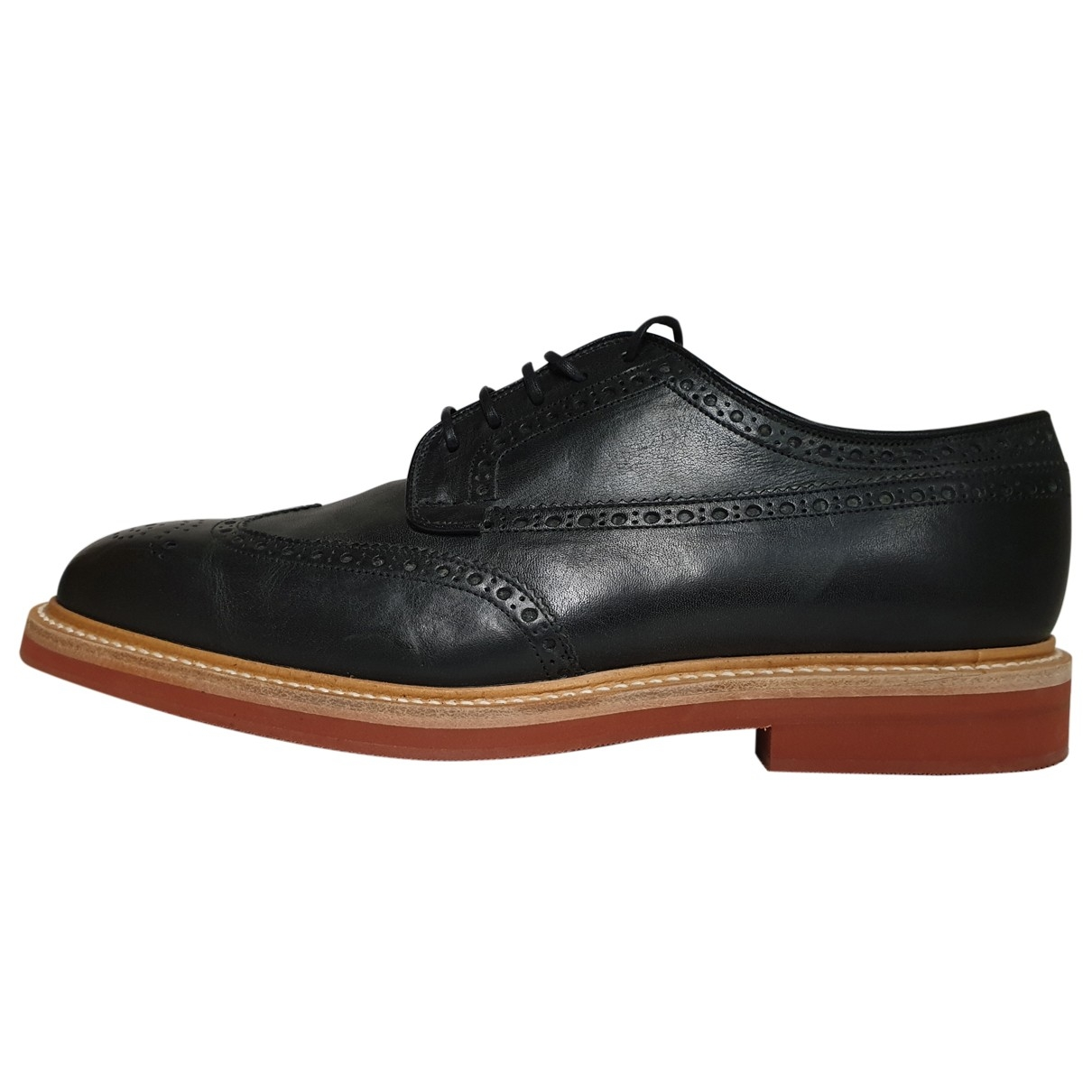 Church's \N Black Leather Lace ups for Men 7 UK