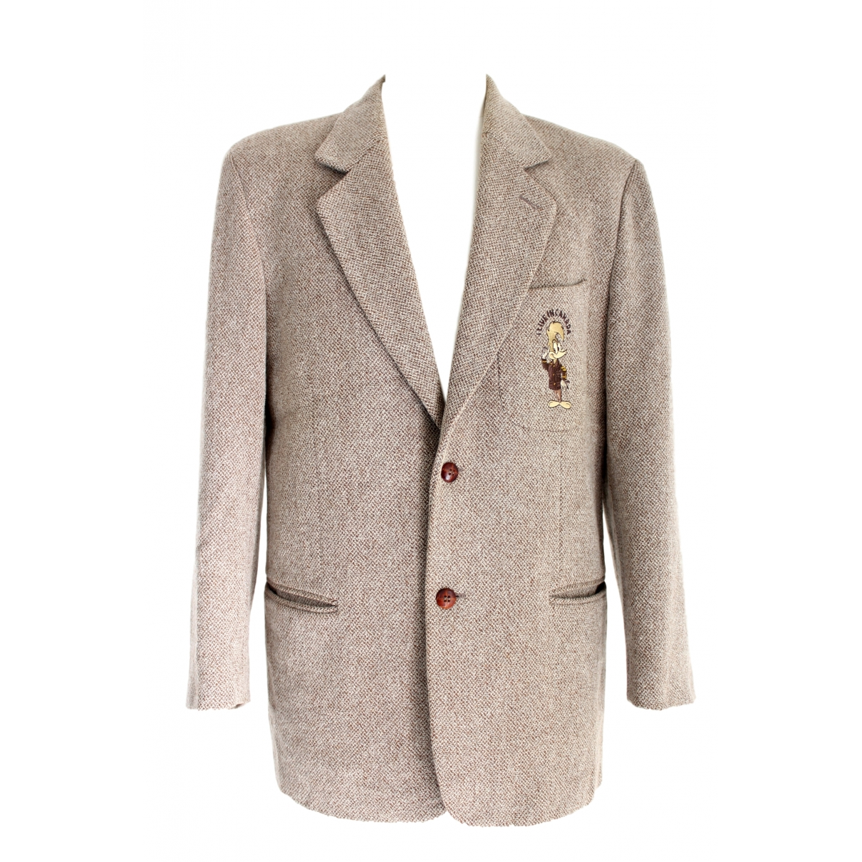 Jc De Castelbajac - Vestes.Blousons   pour homme en laine - beige