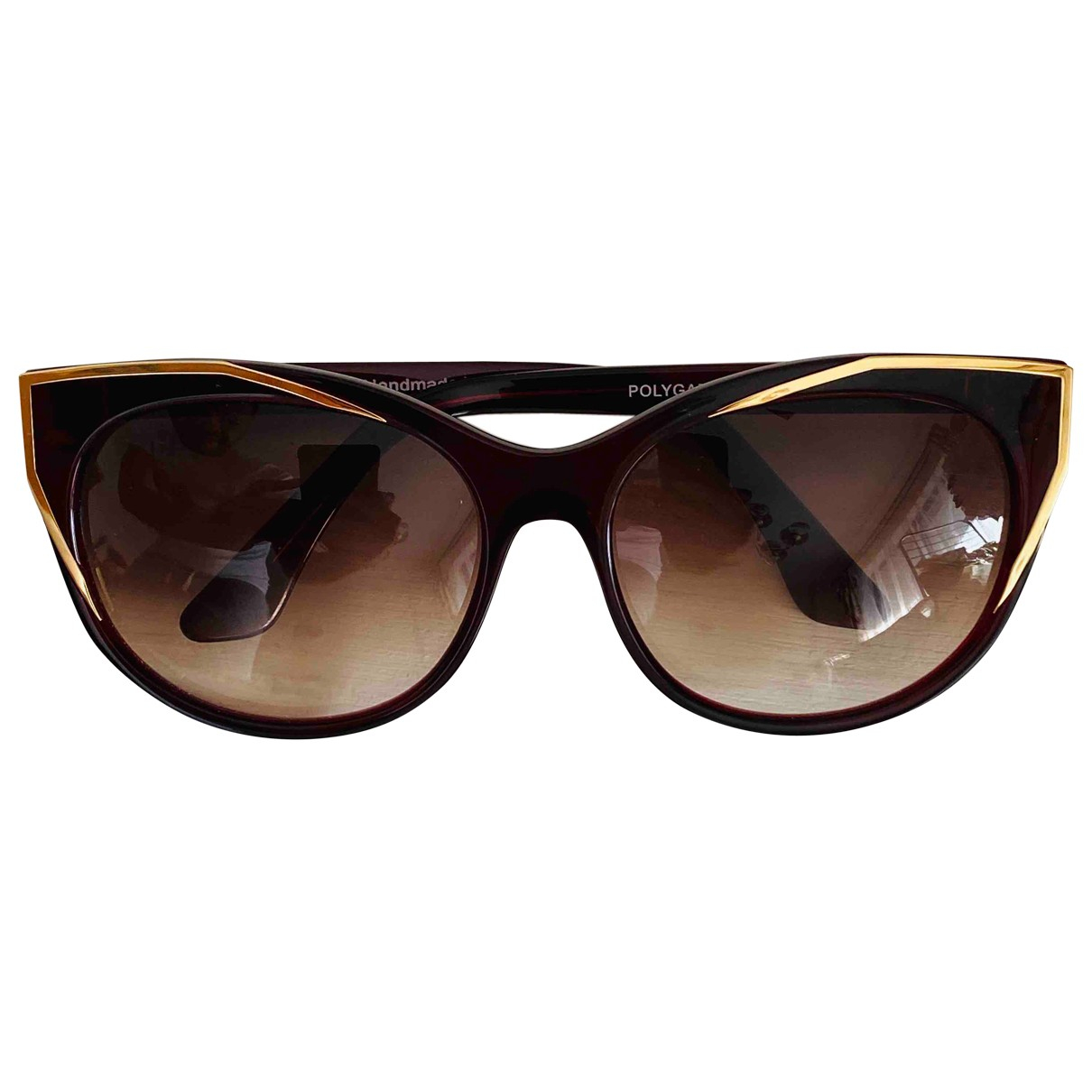 Thierry Lasry \N Sonnenbrillen in  Bordeauxrot Kunststoff