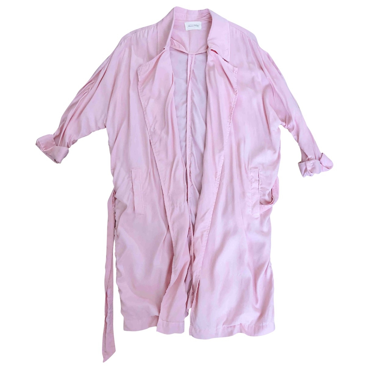 American Vintage - Trench   pour femme - rose