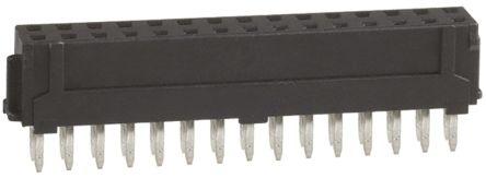 Hirose , DF11 2mm Pitch 30 Way 2 Row Straight PCB Socket, Through Hole, Solder Termination (10)