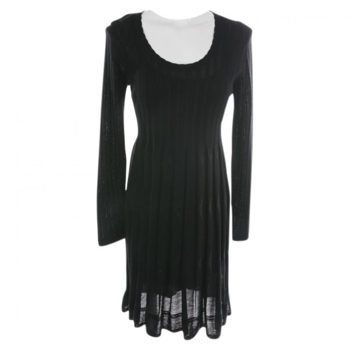 M Missoni \N Kleid in  Schwarz Baumwolle