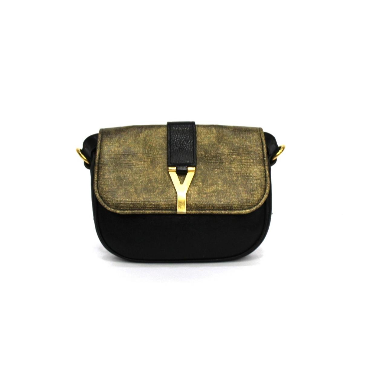 Yves Saint Laurent \N Handtasche in  Metallic Leder
