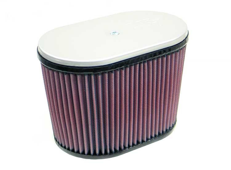 K&N RD-4900 Dual Flange Oval Universal Air Filter