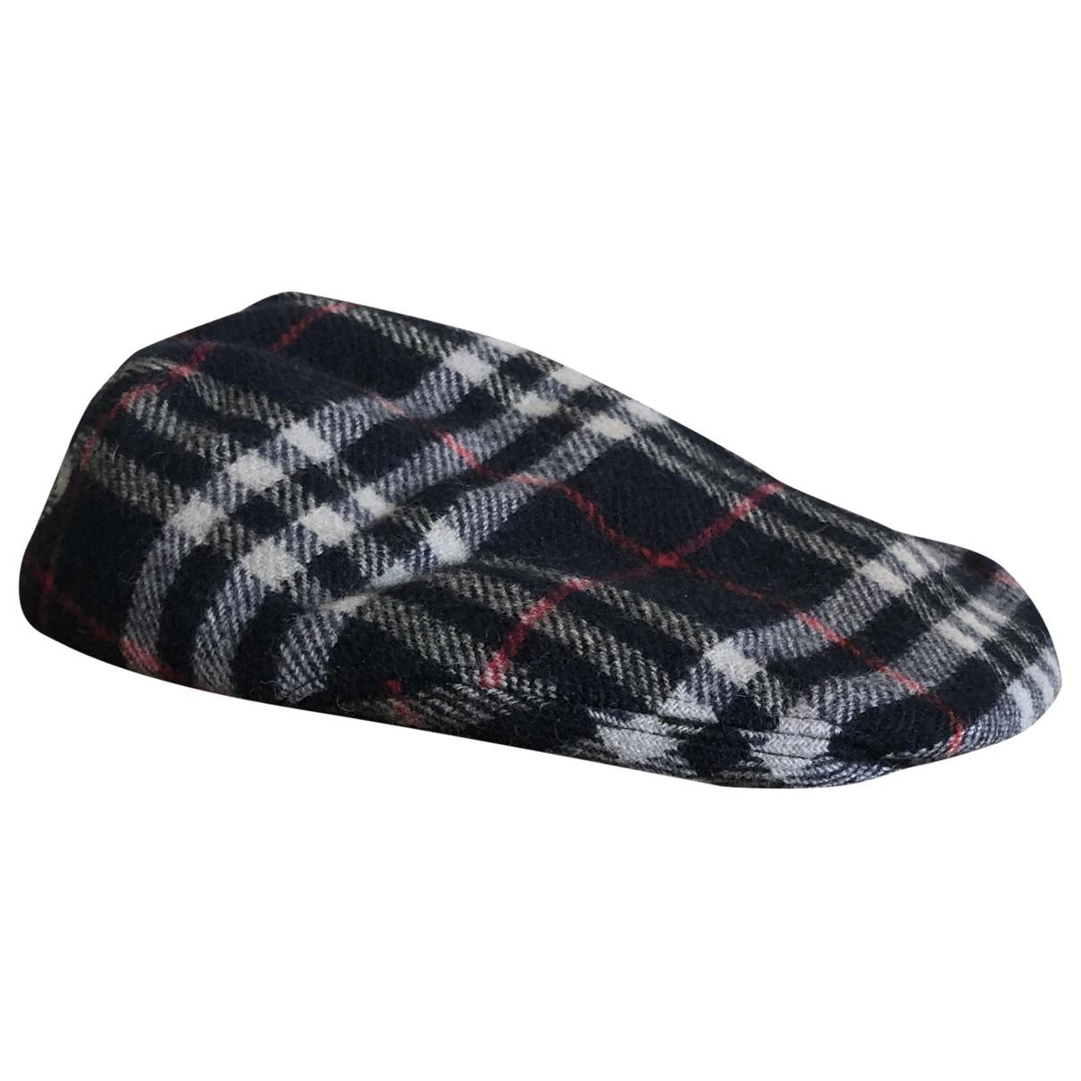 Burberry - Chapeau & Bonnets   pour homme en coton - bleu