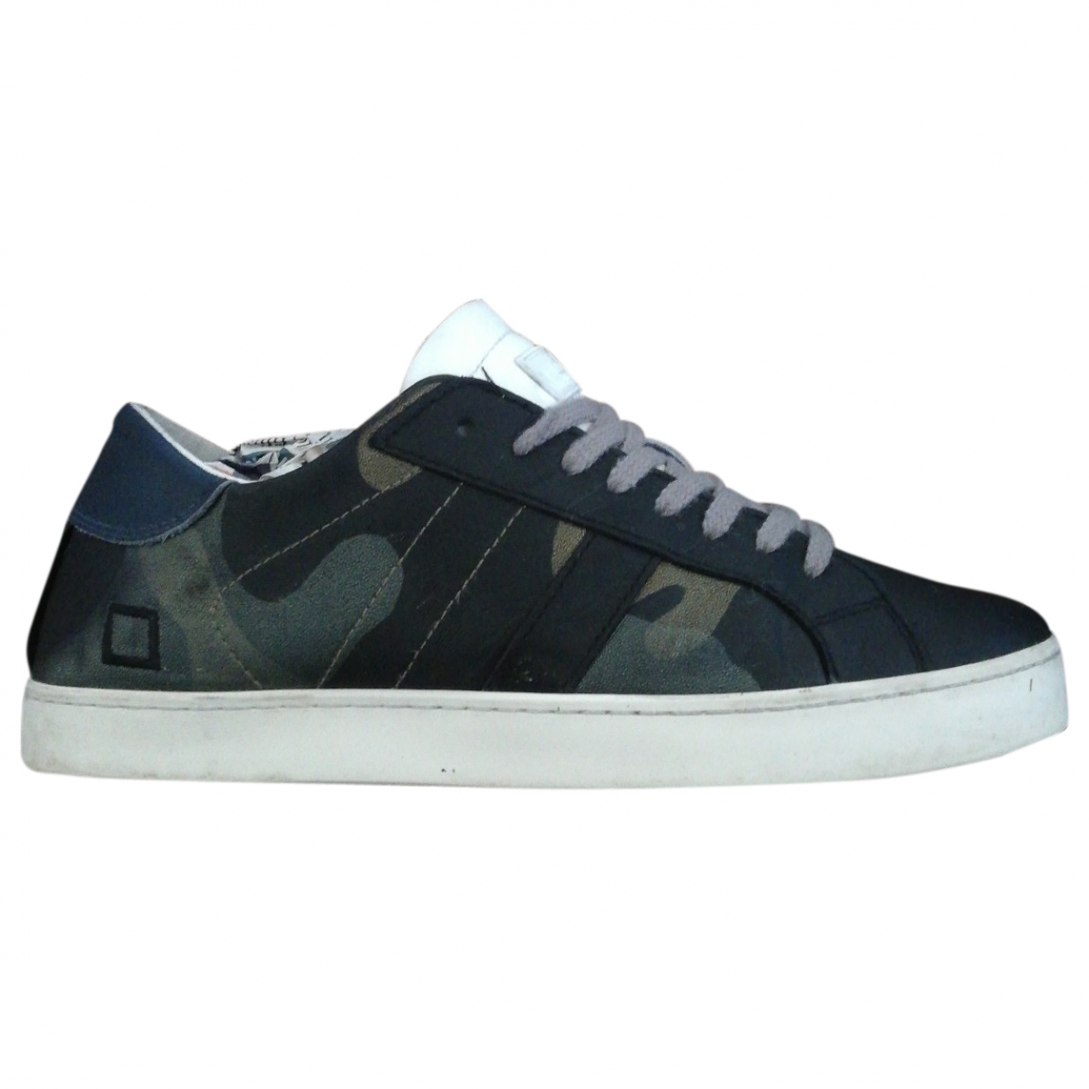 Non Signé / Unsigned \N Black Leather Trainers for Kids 38 EU
