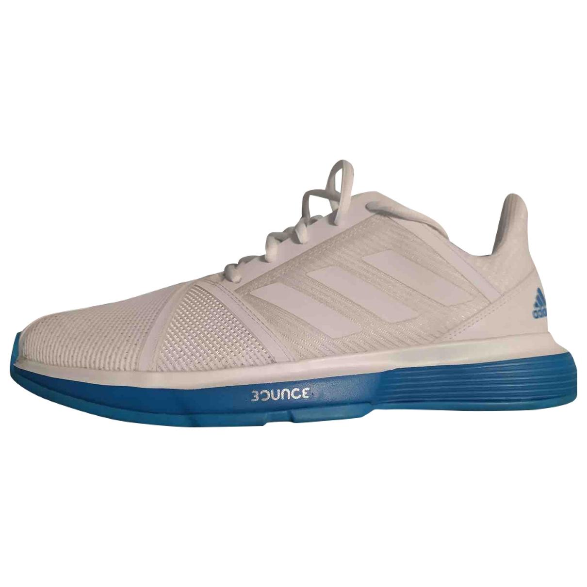 Adidas - Baskets   pour homme en toile - blanc