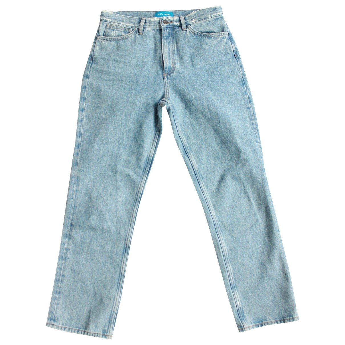 Mih Jeans \N Blue Denim - Jeans Trousers for Women 8 UK