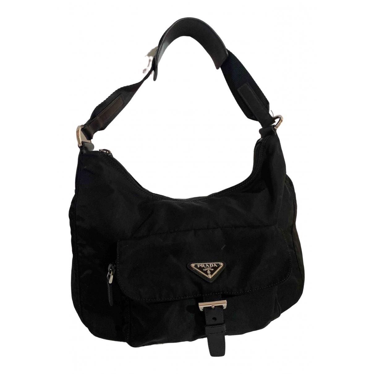 Prada \N Black Cloth handbag for Women \N
