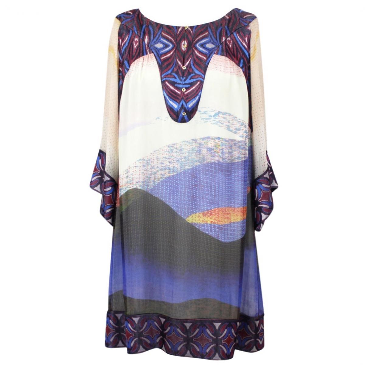 Diane Von Furstenberg \N Multicolour Silk dress for Women M International