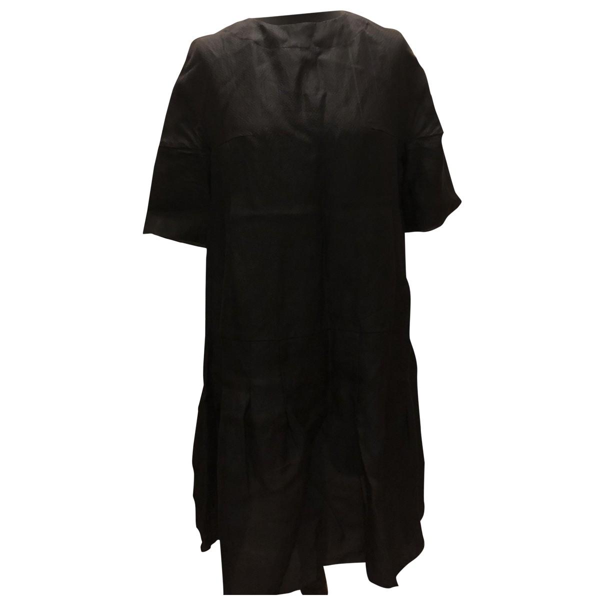 Marni \N Kleid in  Schwarz Seide