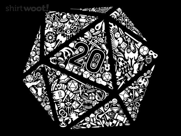 Mosaic D20 T Shirt