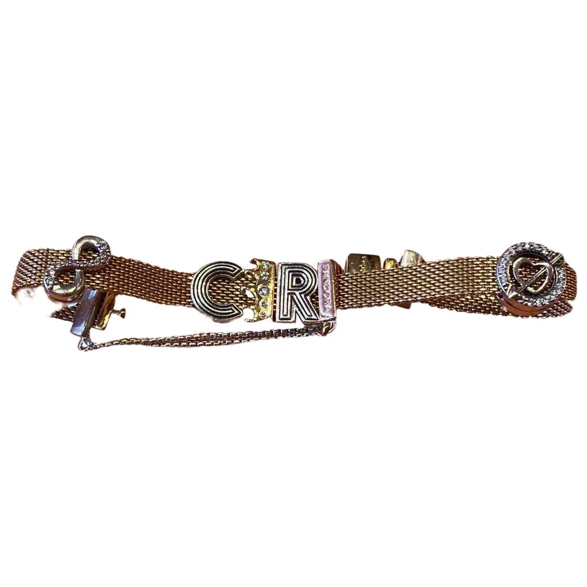 Pandora - Bracelet   pour femme en plaque or - jaune