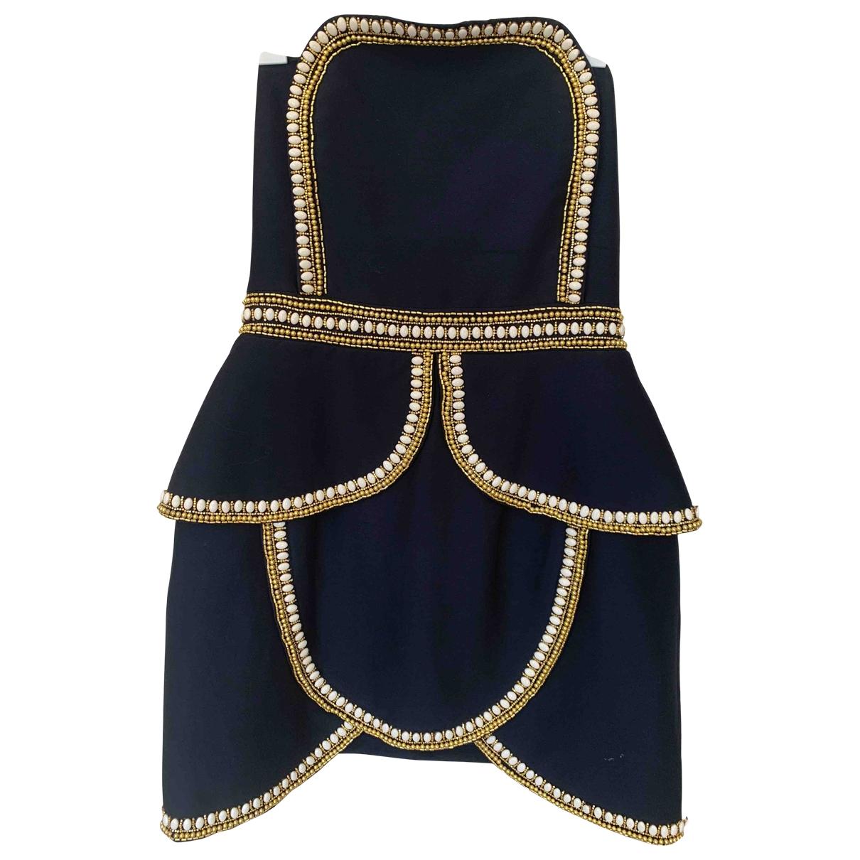 Sass & Bide \N Navy Cotton dress for Women 12 UK