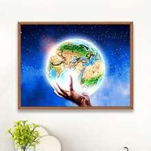 Earth Print DIY Diamond Painting
